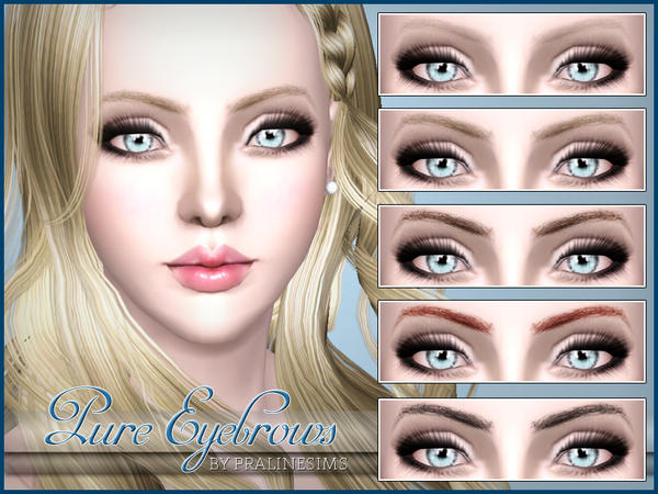 Pure Eyebrows by Pralinesims