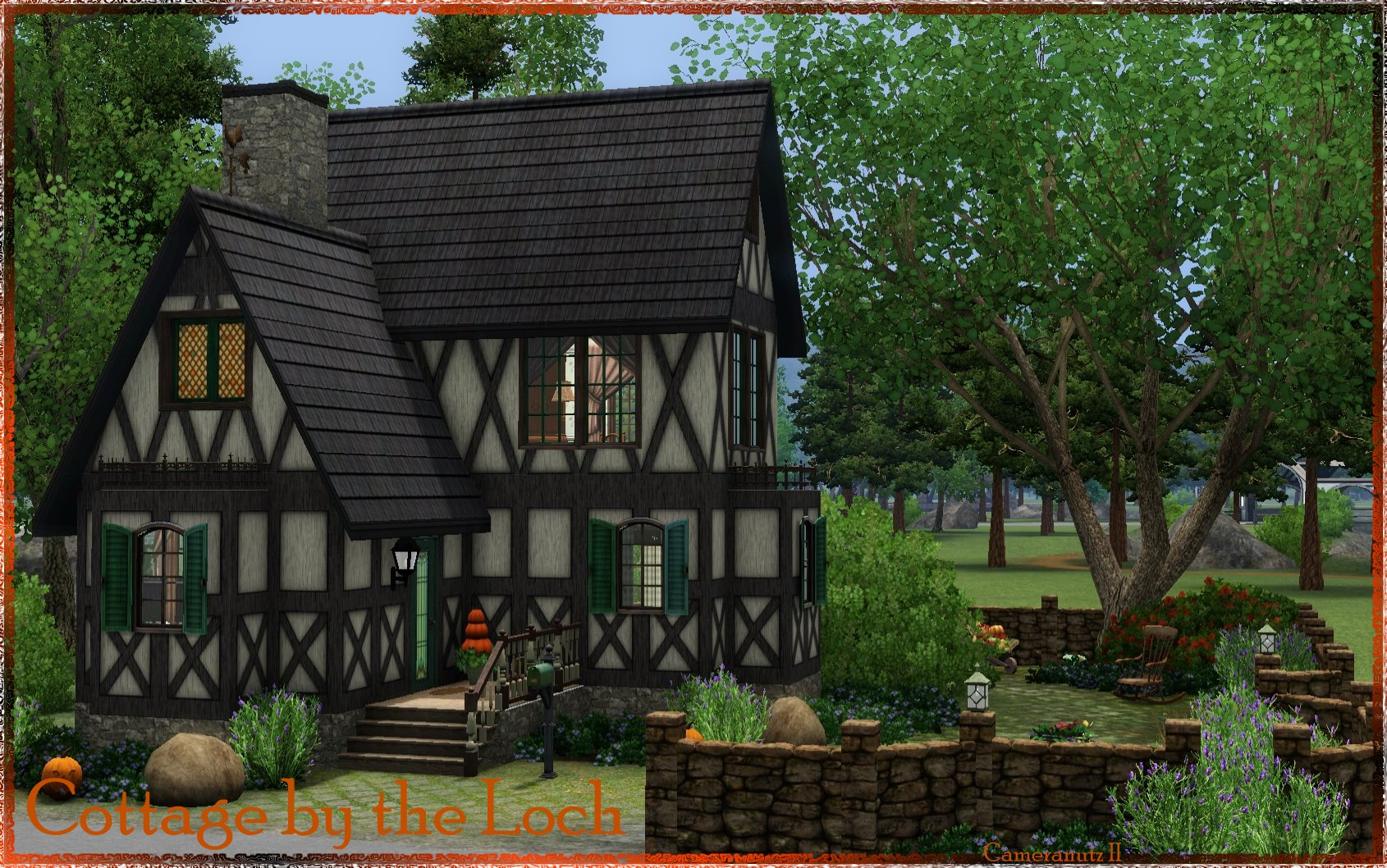Cottage by the Loch