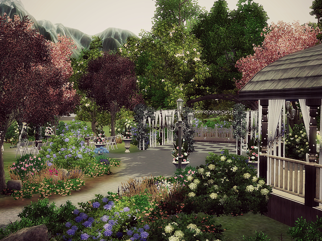 Wedding Park by minasavenue