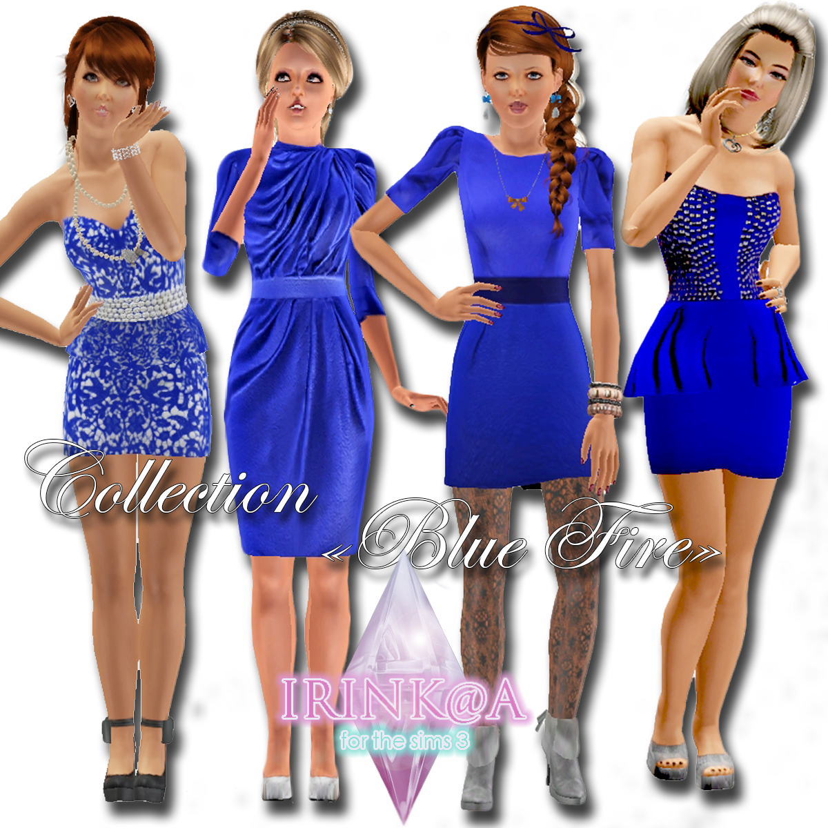 Collection Blue Fire by Irink@a
