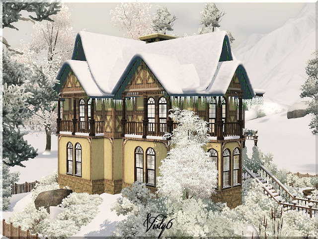 Victorian house 2 by Visty6