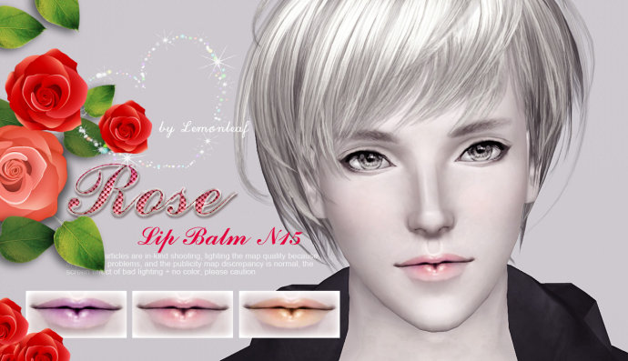 Rose Lip Balm by Lemonleaf
