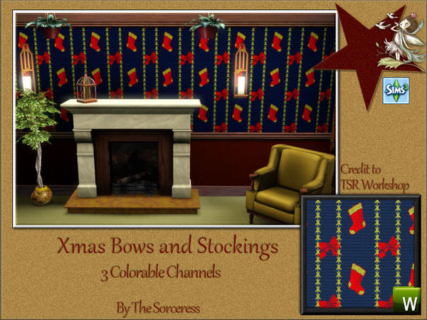4 Xmas Patterns by thesorceress