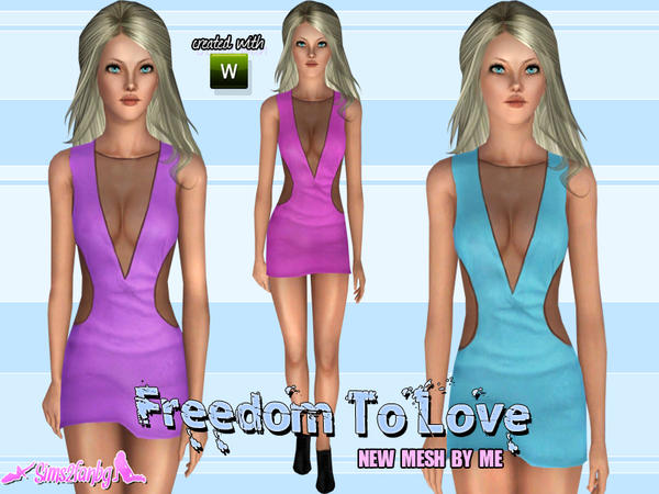 Freedom To Love by Sims2fanbg