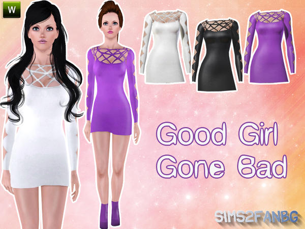 Good Girl Gone Bad by sims2fanbg