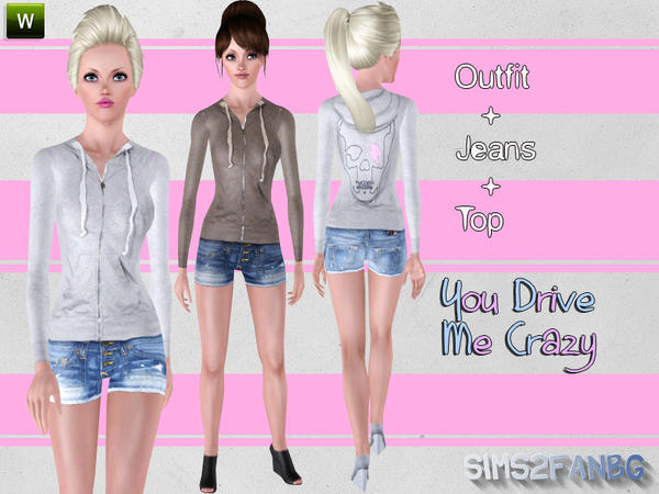 You Drive Me Crazy by Sims2fanbg