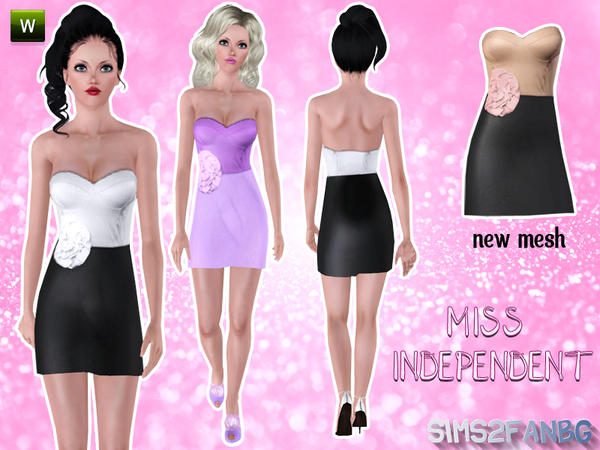 Miss Independent by Sims2fanbg
