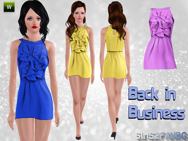 Back in Business  by Sims2fanbg