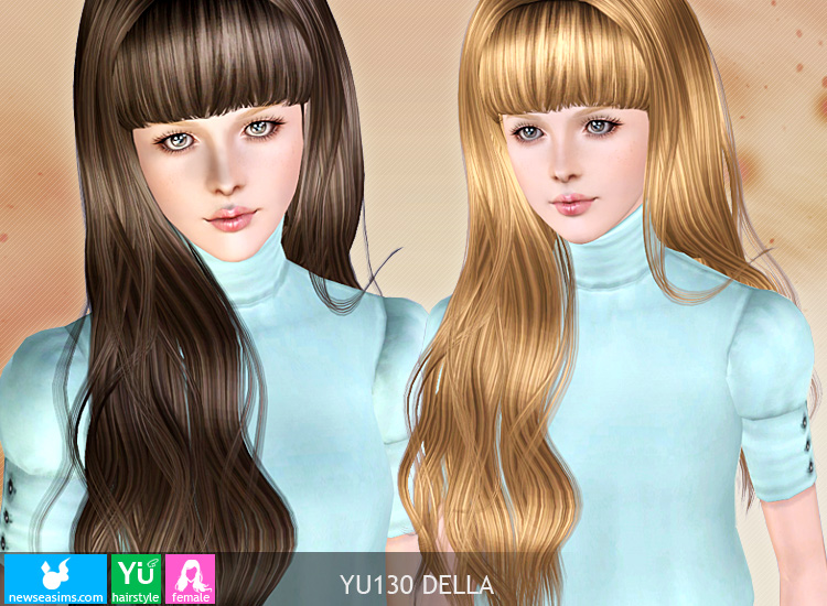 Della hairstyle by Newsea