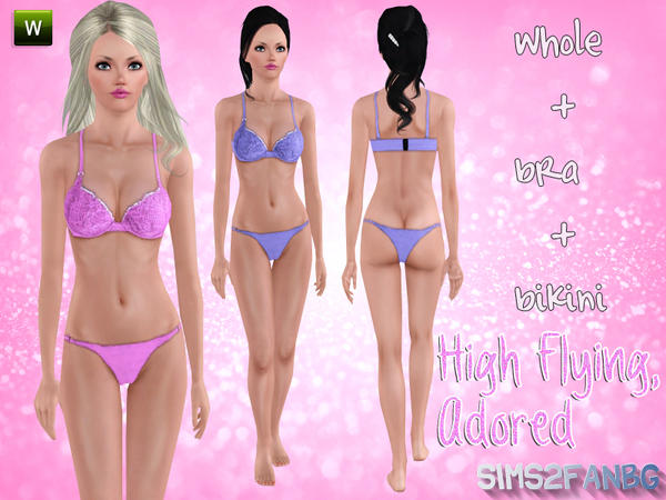 High Flying, Adored by Sims2fanbg