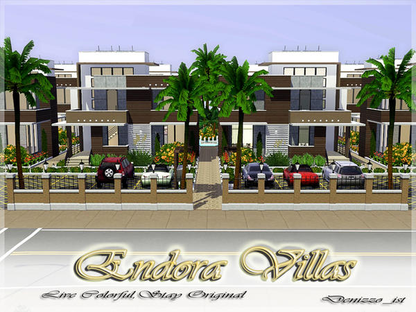 Endora Villas Fully 'Furnished' by Denizzo_ist