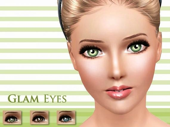 Glam Eyes by Pralinesims