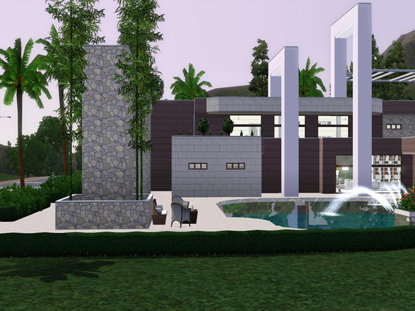 Hollywood Hills 23 by Pralinesims