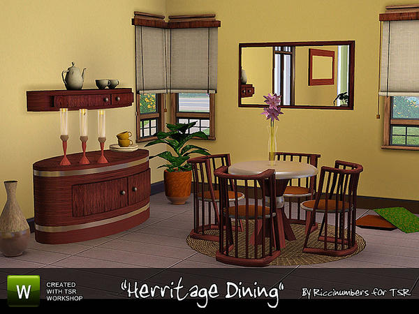 Herritage Dining by riccinumbers