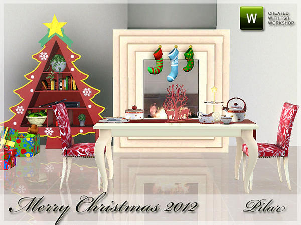 Merry Christmas 2012 by Pilar