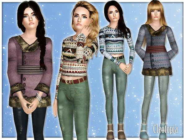 TEEN Winter Fashion Set by Cleotopia
