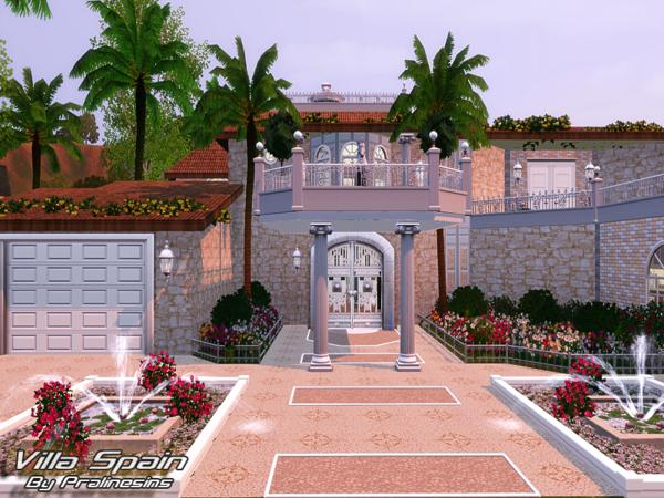 Villa Spain by Pralinesims