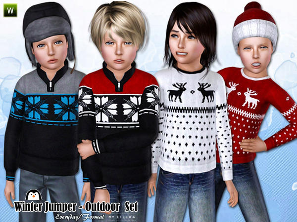 Winter Jumper ~ Outdoor Set by lillka