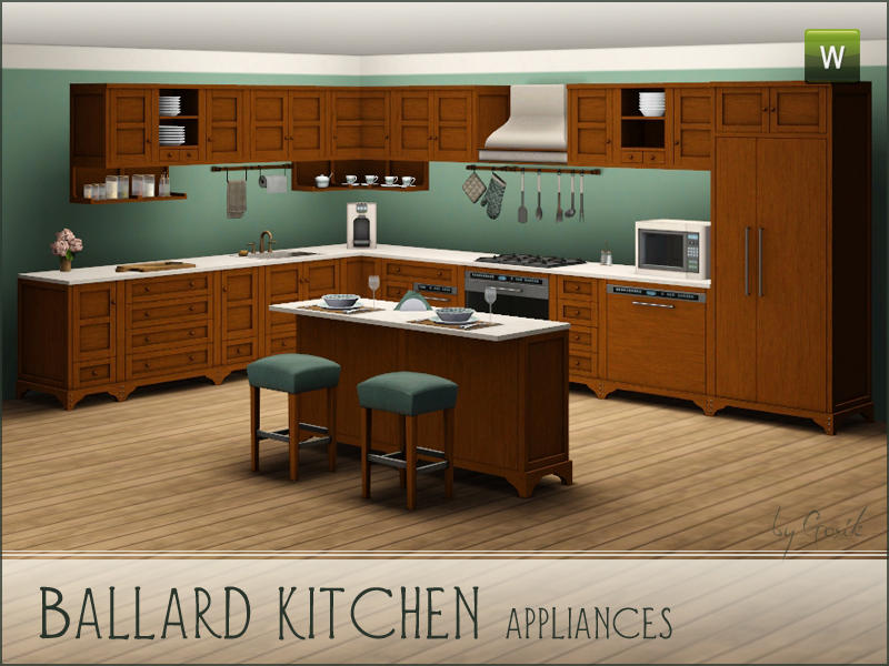 Ballard kitchen - appliances by Gosik