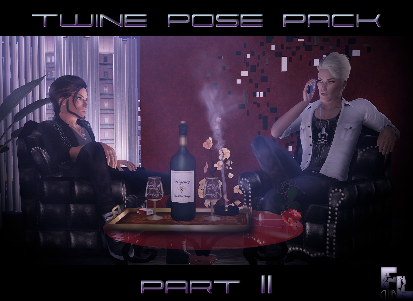 Twine pose pack part II by F&L cLub