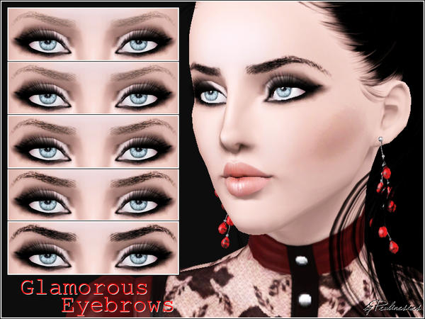 Glamorous Eyebrows by Pralinesims