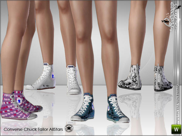 Converse Chuck Tailor Allstars by Simsimay