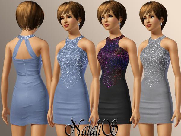 Coctail dress 066 by NataliS