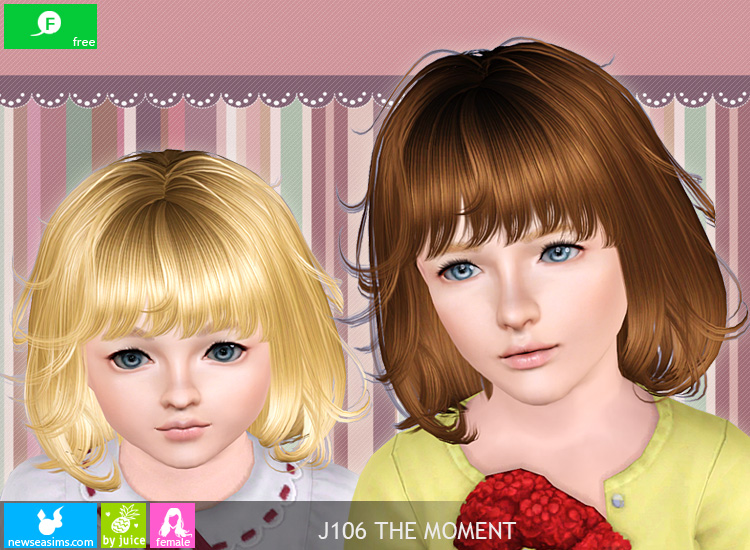 J106 The Moment hairstyle by Newsea
