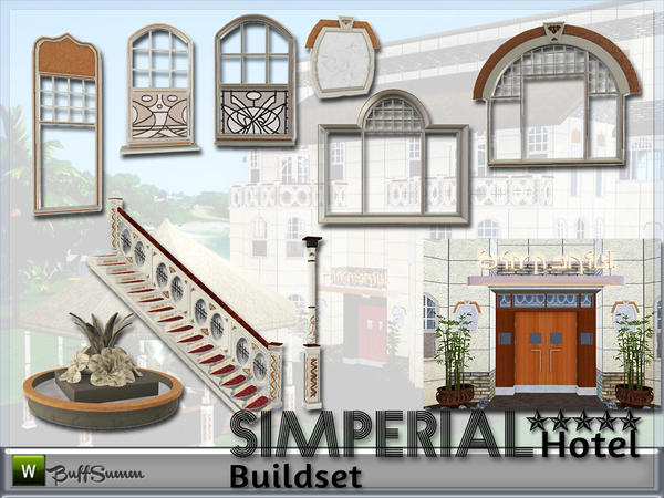 Hotel SIMPERIAL Build-Objects by BuffSumm