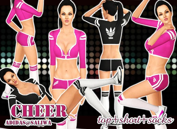 Adidas-Cheer Sport Outfit by Saliwa