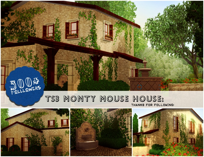 Monty Mouse Home by TNN