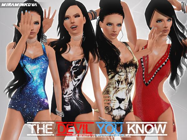 The Devil You Know Set  by miraminkova