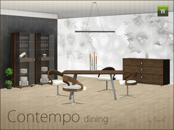 Contempo dining by Gosik