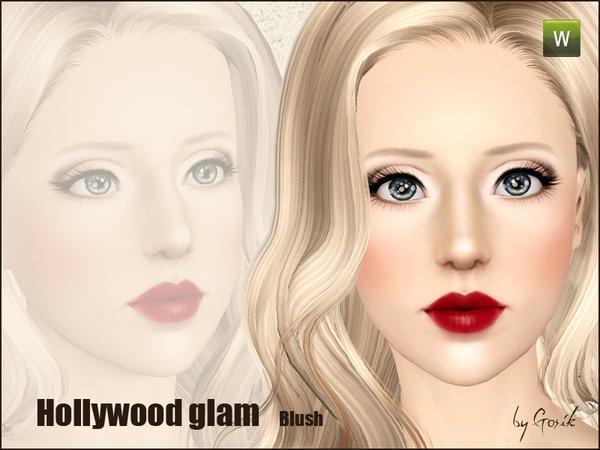 Hollywood glam blush by Gosik