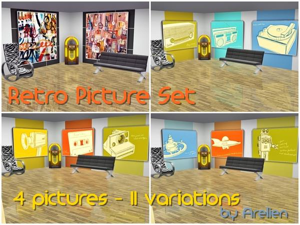 Retro Picture Set by Arelien