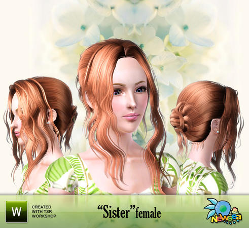 Newsea Sister Female Hairstyle