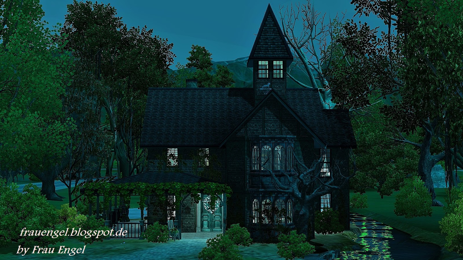 Witch house by Frau Engel