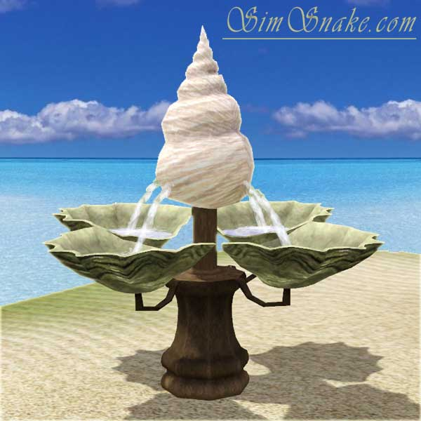 Beach Fountain at Sim Snake
