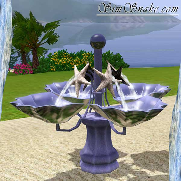 Starfish Fountain at SimSnake