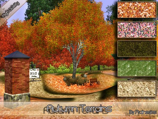 Autumn Terrains By Pralinesims