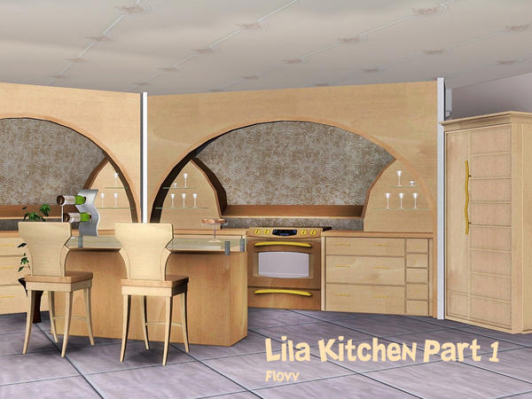 Lila Kitchen Part 1 by Flovv