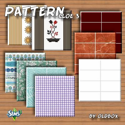 Cloe patterns by OldBox