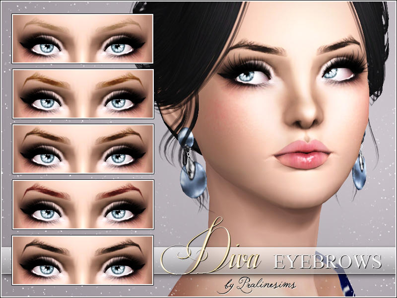 Diva Eyebrows by Pralinesims