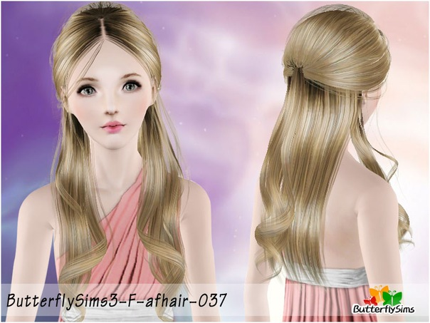 Female Hair 037 by ButterflySims
