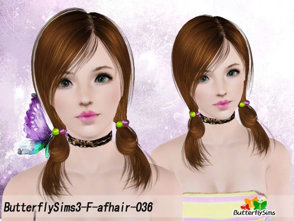 Female Hair 036 by ButterflySims