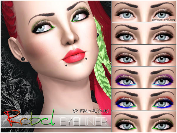 Rebel Eyeliner by Pralinesims