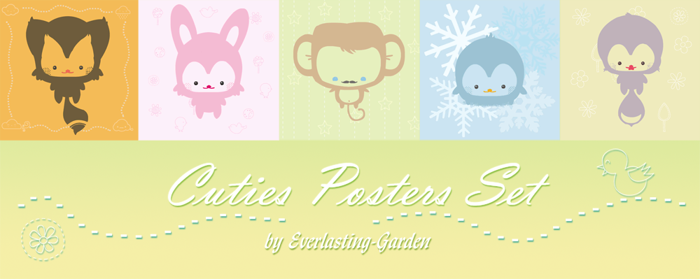 Cuties Posters by Everlasting
