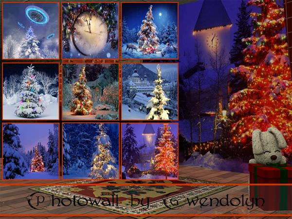 GW_photowall_Happy New Year_9 items by Gvendolin