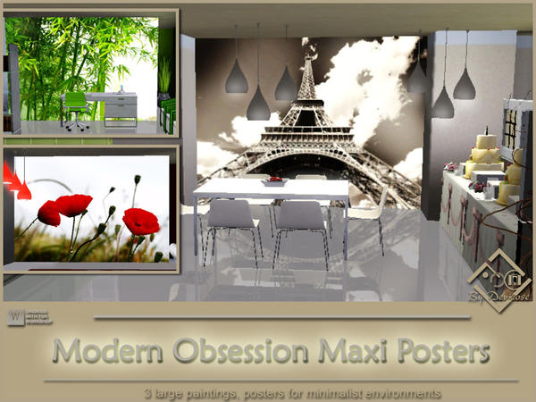 Modern Obsession Maxi Posters Set by Devirose