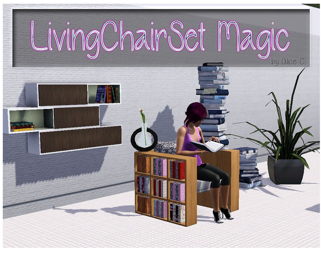 Living Chair Set Magic by Alice C